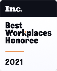 Inc. Best Workplaces 2021
