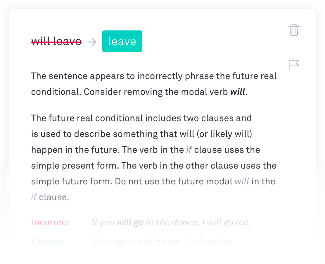 write the future grammarly