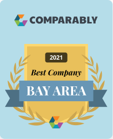 Comparably's Best Places to Work in the Bay Area 2021