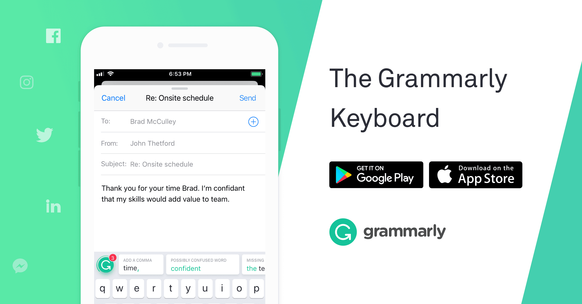 The Grammarly Keyboard | Grammarly
