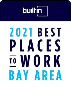 Built In's Best Places to Work Bay Area 2021