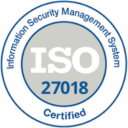 ISO/IEC 27018:2019 Logo